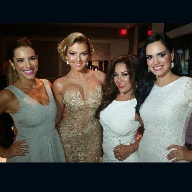 """Gala """"Divinas y Humanas"""" de la revista TvyNovelas en Miami"""
