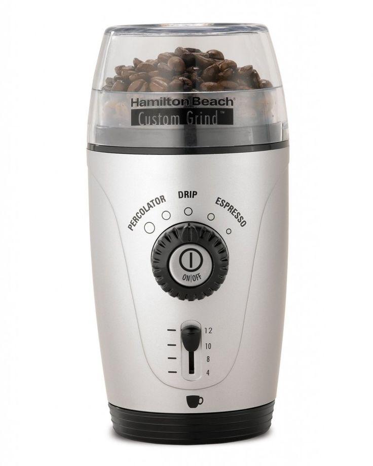 Hamilton Beach Custom Coffee Grinder only $18.12! (Reg. $32.99)
