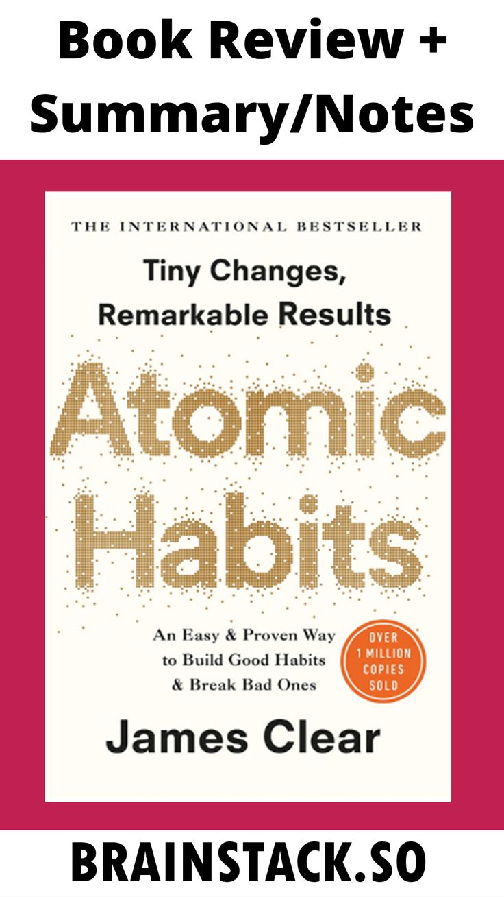 Atomic habits in 2020 books for self improvement habit