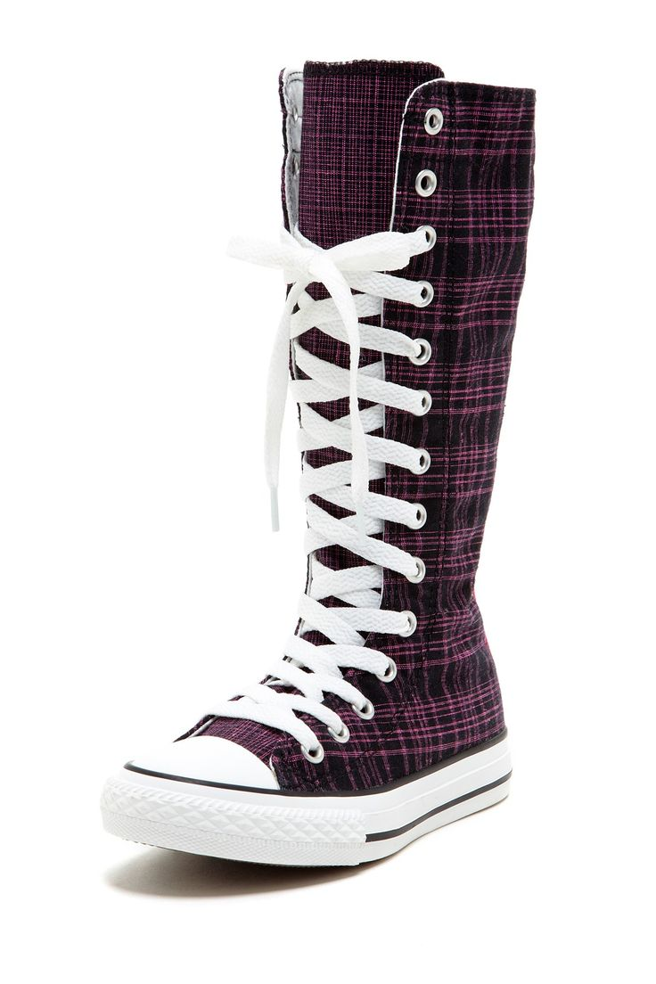 yup my dream pair of converse- well maybe   knee high and a different color but still these are cute too