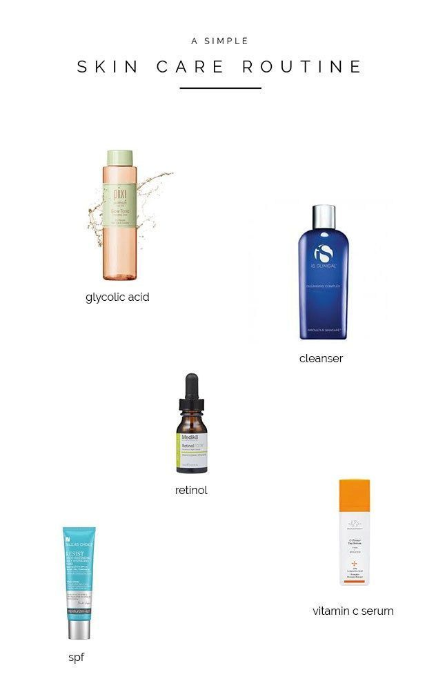 Simple Skin Care The Essential Routine My Dermatologist Gave Me Jessica Rose Williams Simple Skincare Simple Skincare Routine Skin Care