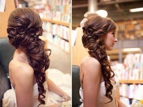 Peinado para boda o xv años