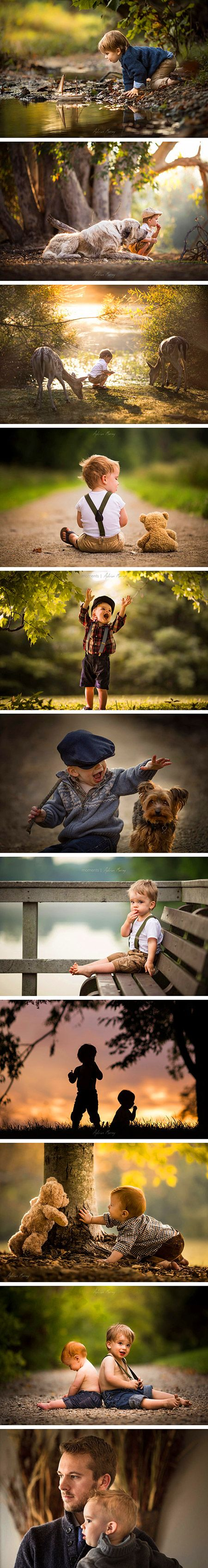 Following a health scare involving his son, Adrian Murray made it his mission to capture his children's beautiful childhood moments through his lens. Adrian Murray's beautiful portraits tell a story of childhood that all of us can relate to. His nostalgic point of view reminds us of our own childhoods and the storybooks we used to read while growing up.