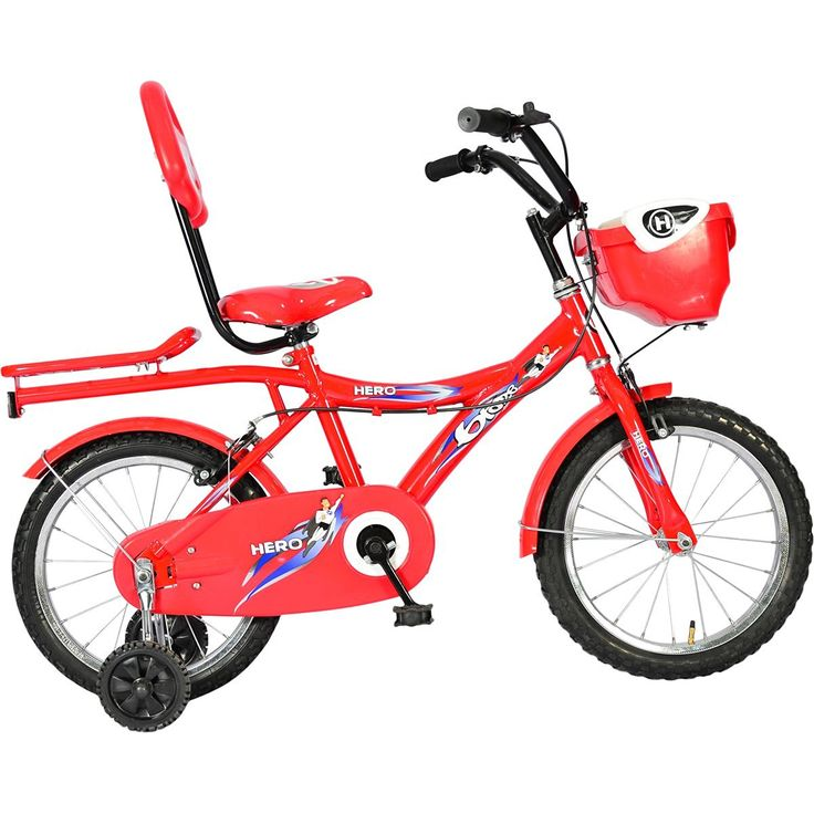 Best Baby Bicycle for 3 4 5 6 year old kids Hero Blaze 16T Hi Riser Kid's Bicycle (Red)