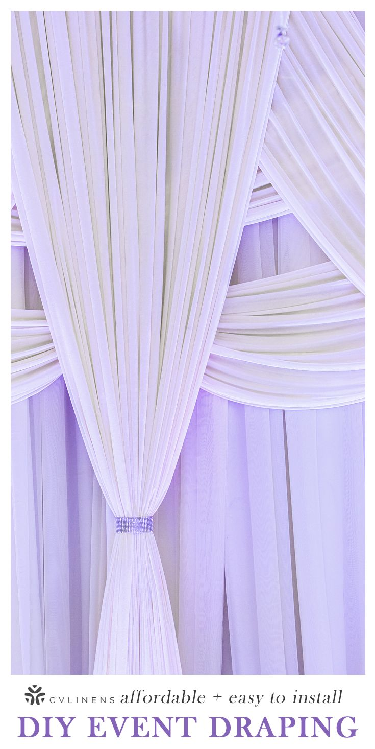 Poly Premier Fire Retardant Fr 14ft H X 60 W Drape Backdrop White Head Table Wedding Backdrop Diy Wedding Lighting Diy Wedding Backdrop