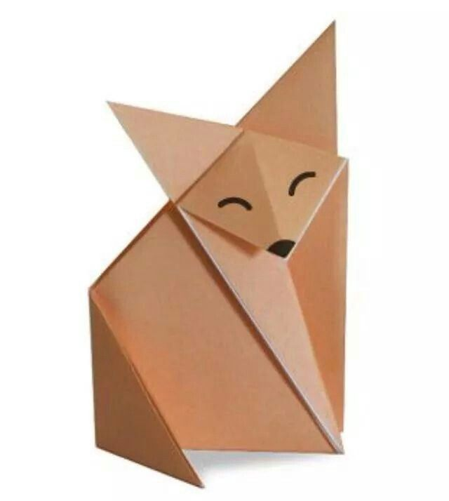 little prince fox made with paper pinterest. Black Bedroom Furniture Sets. Home Design Ideas