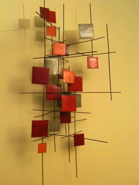 98 best wall art images on Pinterest | Abstract art, Bricolage and ...