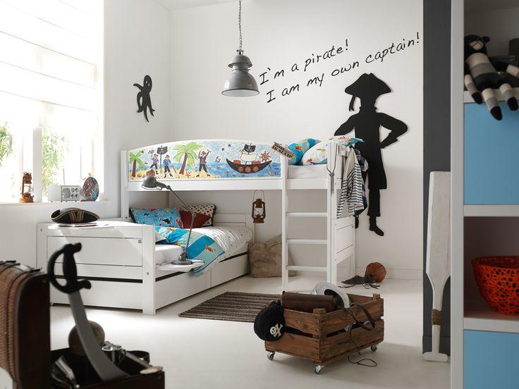 La stanza dei bambini? No, un covo di pirati! #kidsroom #instudiodesign