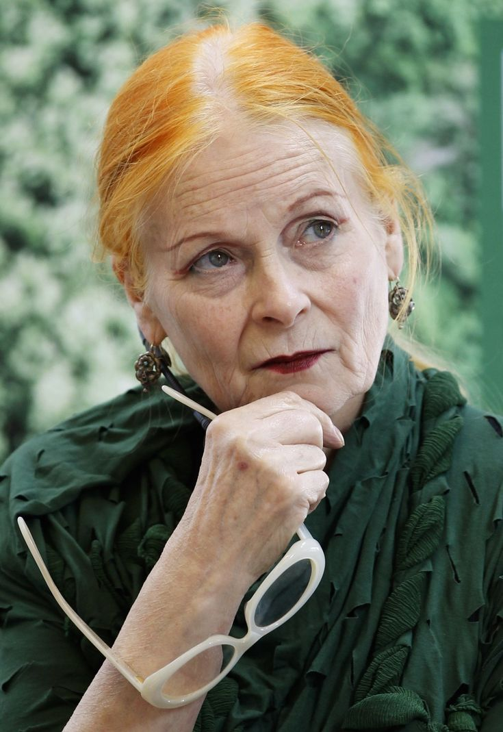 vivienne westwood. I want to be like her when im older!
