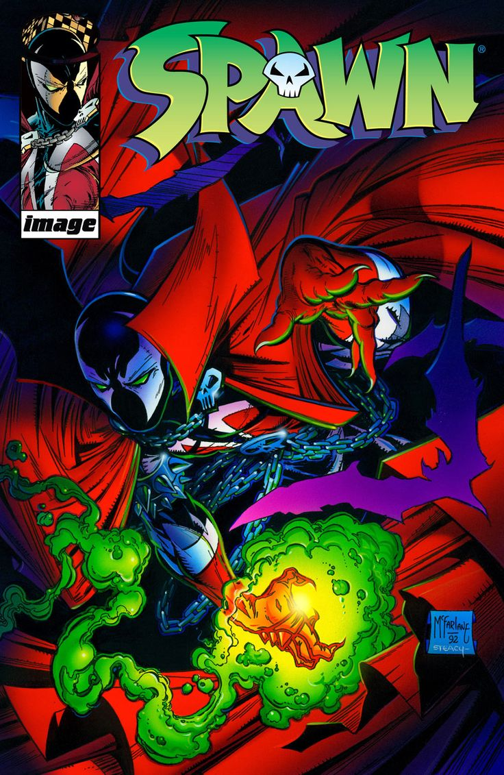 Spawn remembers that he struck a deal with Malebolgia in order to return to his beloved wife but five years after his death. Collects Spawn #1-6.