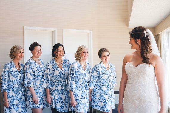 Bridesmaid Robes x 5 Eloise
