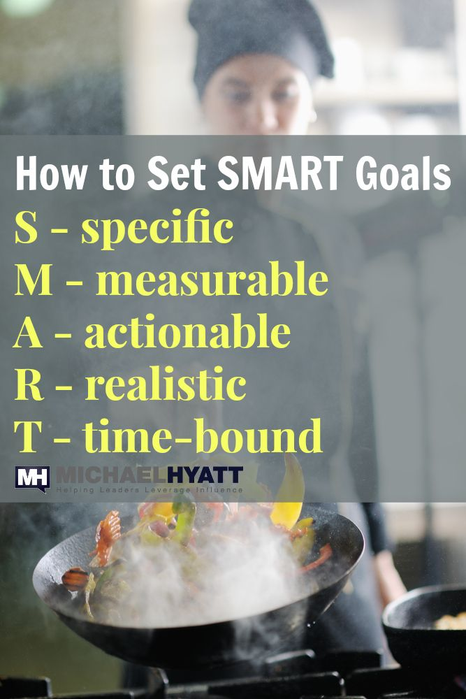 Learn how to set S.M.A.R.T. goals in Michael Hyatt's 5 Days to Your Best Year Ever video series.