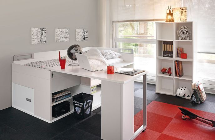 Tiny Box Room Ikea Stuva Loft Bed Making The Most Of: Child Bedroom Furniture - Dimix Collection