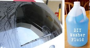 Fight Windshield Grime With Homemade Washer Fluid