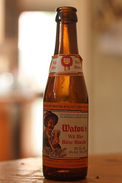 Sampled a Watou's Wit last night ... very lovely wheat beer from Belgium