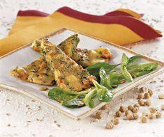 Tortino di ceci e ortaggi con insalata di spinaci - Tutte le ricette dalla A alla Z - Cucina Naturale - Ricette, Menu, Diete