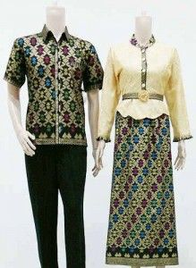 Model Baju Batik Muslim Modern Modis Terabru 2016