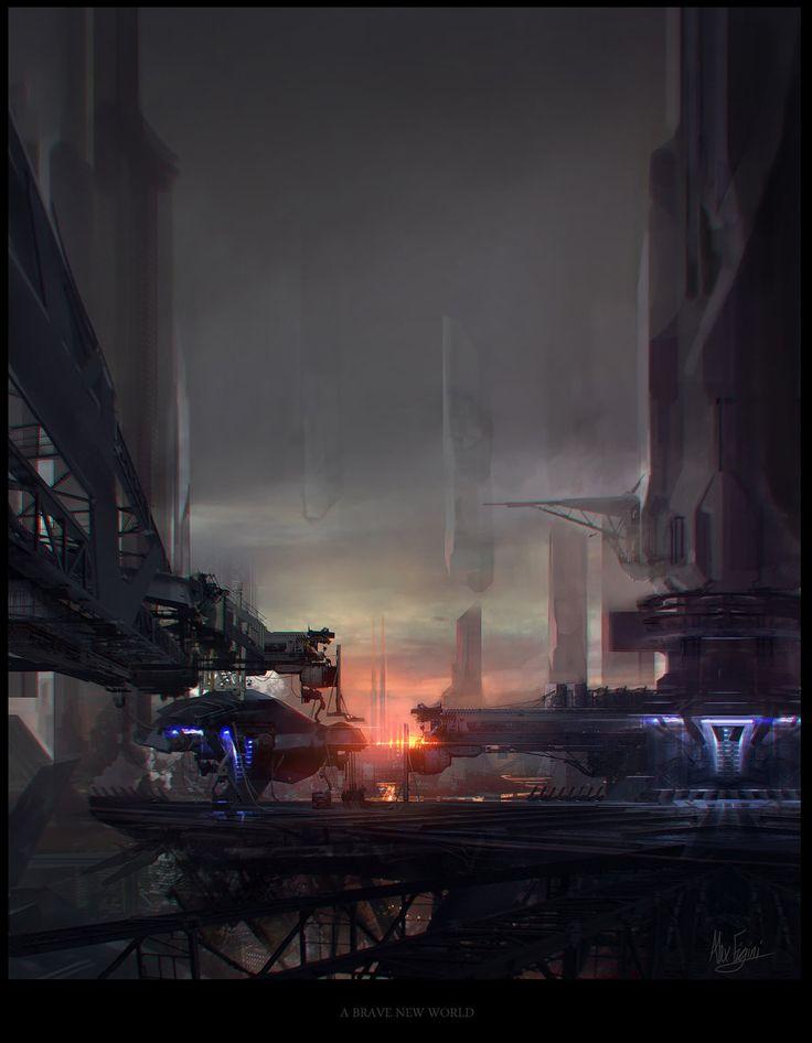 A BRAVE NEW WORLD by ~sundragon83 on deviantART | science fiction ...