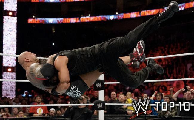 Roman Reigns spears Batista | pure roman | Pinterest ...
