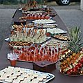 Durant le pont de l'Ascension nous avons passé un week-end au vert dans le Gers mais nous avons surtout eu l'occasion de préparer un buffet...