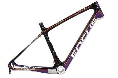 Bicycle Frames 22679: Focus Izalco Donna Black Purple Medium Size Woman S Carbon Road Bike Frame -> BUY IT NOW ONLY: $399 on eBay!