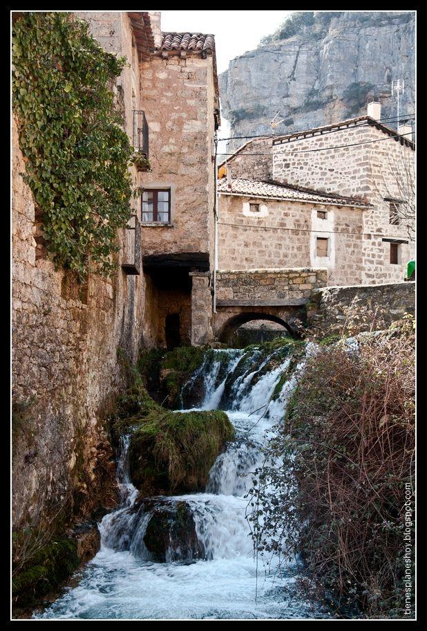 Orbaneja del Castillo,Burgos, Castilla y León (España)