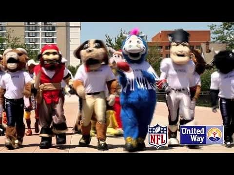 Pat Patriot has been known to wear a LIVE UNITED shirt a tone or two!  Best of luck to both teams  but in New England sprout  let's go a Pats! #nfl #liveunited #mascot #patriots #superbowl #Sunday #football