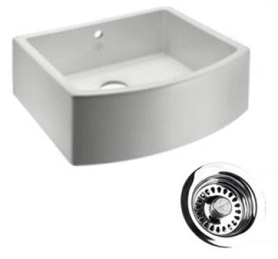 Waterside Single Fireclay Sink