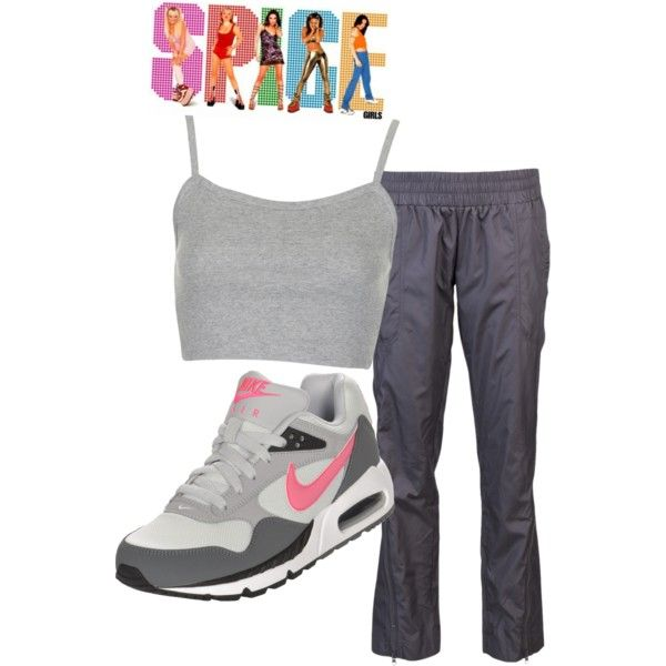 """Sporty Spice"" by ashley-nicole-parris on Polyvore"
