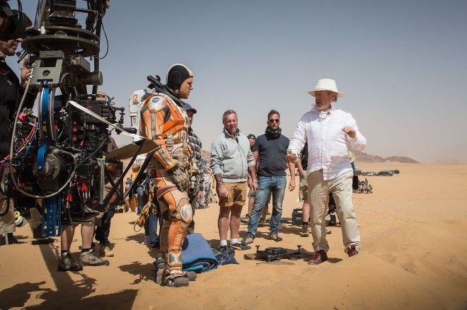Heres How FX Whizzes Made the Red Planet for The Martian