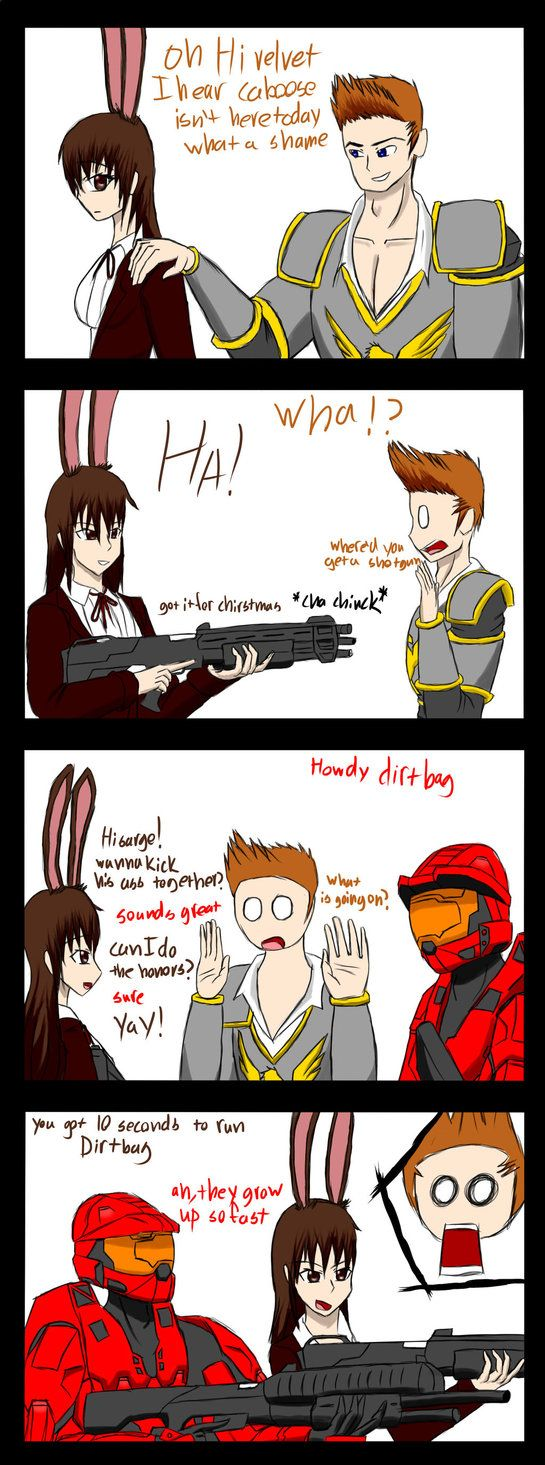 RvB/RWBY: Red knight and the apprentice by sketchingchaos on DeviantArt