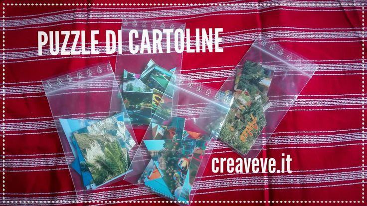 Puzzle di cartoline: un gioco DA viaggio e SUL viaggio - creaVeve