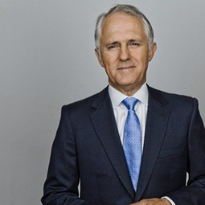 Malcolm Turnbull, Australia's Prime Minister. In May 2017 he became a LinkedIn influencer. Crisp warm photo with a nice tilt to the edge of the frame.
