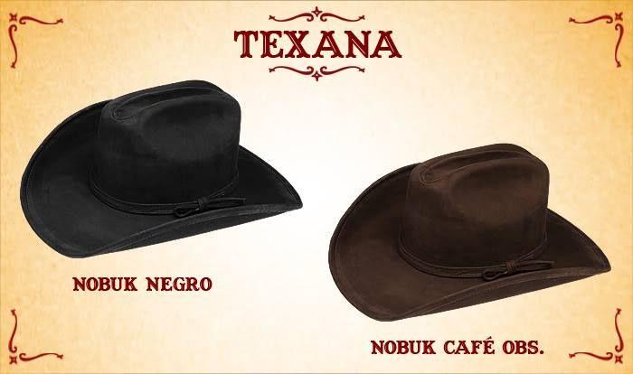 #Sombreros modelo texana, negro y café obscuro