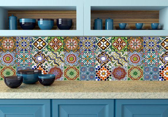 "Deco-friendly | ""Azulejos"" adhesivos | Mooi magazine"
