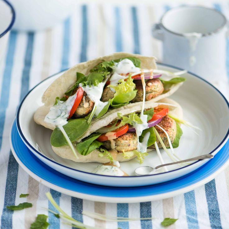cuisine recette falafel assiette ail oignon coriandre