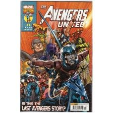 The Avengers United #77 from Marvel/Panini Comics UK. 4th April 2007 issue. In very good condition internally and cover. Bagged and boarded. £2.00