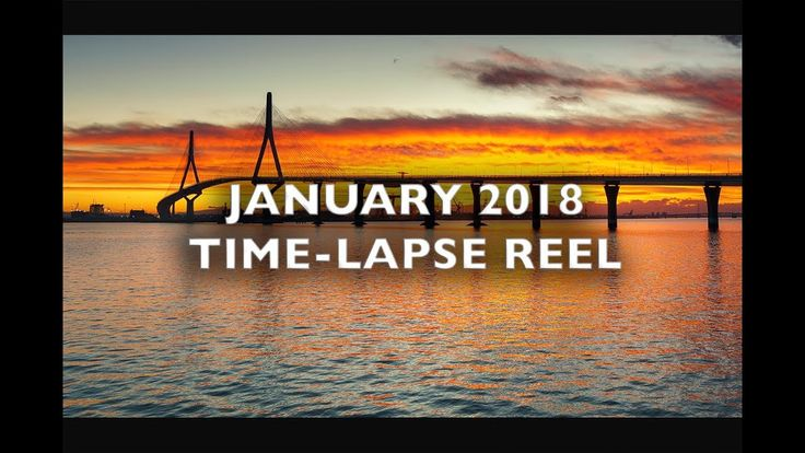 January 2018 Time-Lapse Reel  4K Royalty Free Footage