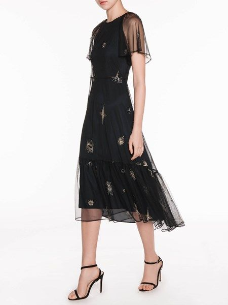 29e007a2cbcd Embroidered Celestial Dress | fashion is the only cure, always ...