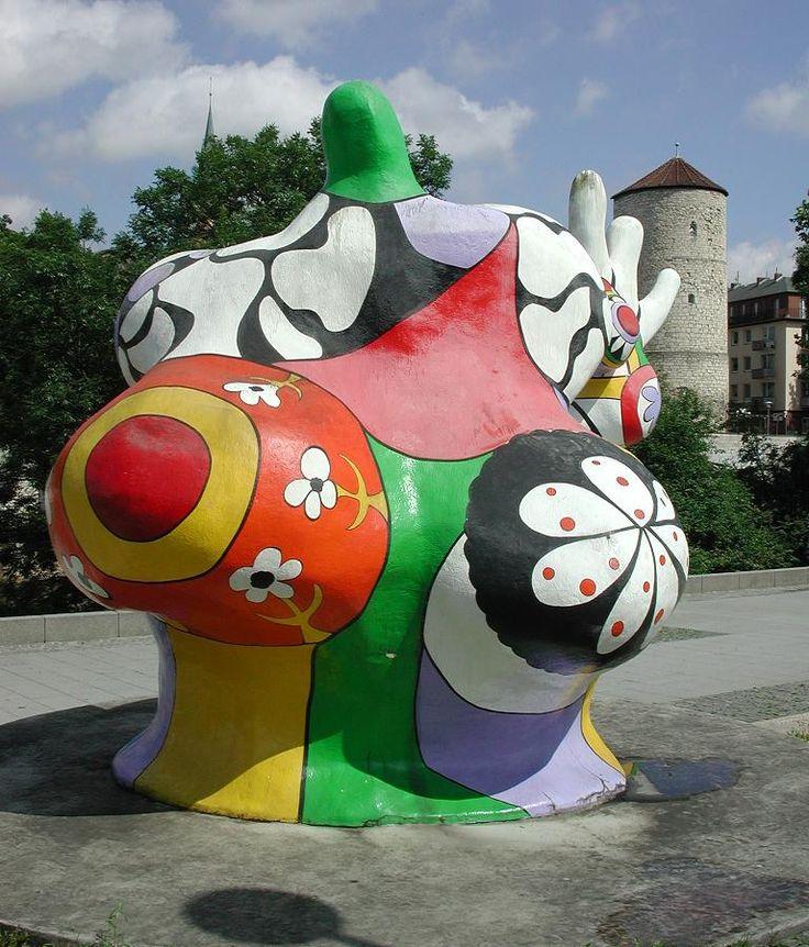 Niki de Saint Phalle - Sculpture - Transformation du corps, métamorphose
