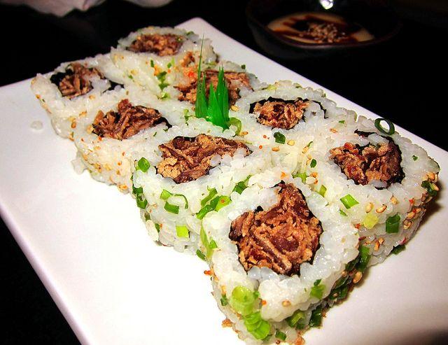 Recette Sushi Maki au boeuf et à la menthe (sans algue)
