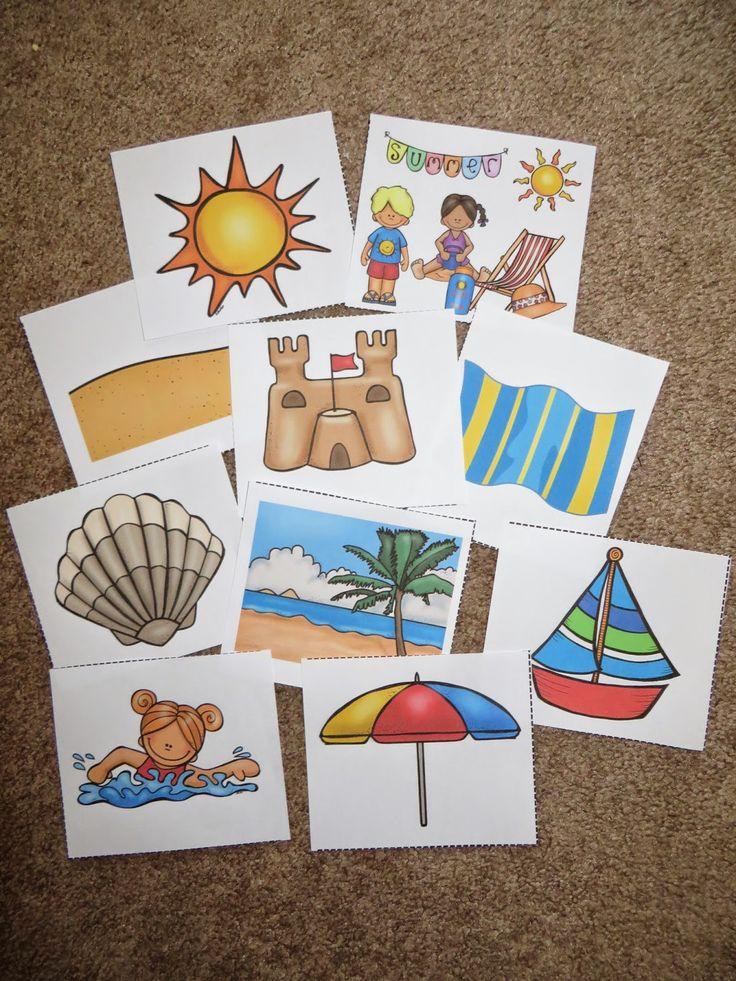 Nautical flag alphabet to decipher summer themed words