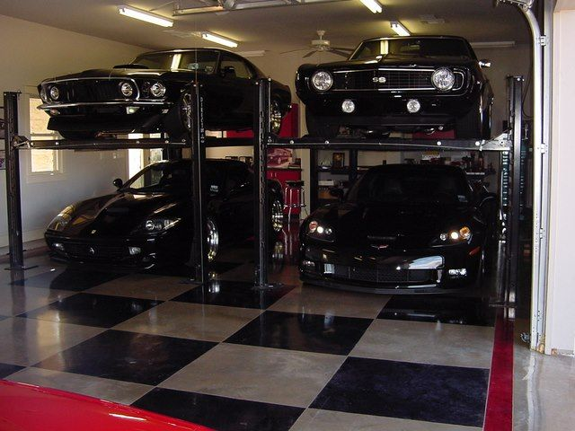 Motorcycle Garage Storage Lift - WoodWorking Projects & Plans