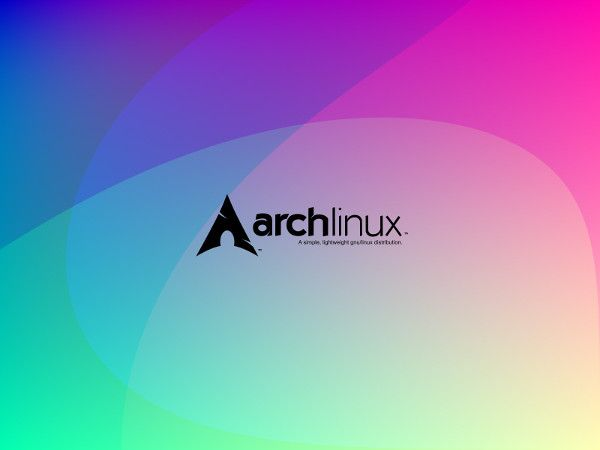 Colorful ArchLinux Wallpaper 6