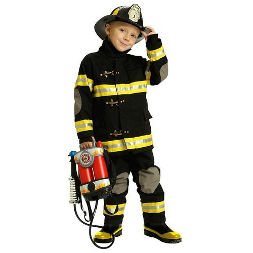 wholesale prices on child black junior firefighter costumes for boys u0026 same day shipping u0026 our secure website