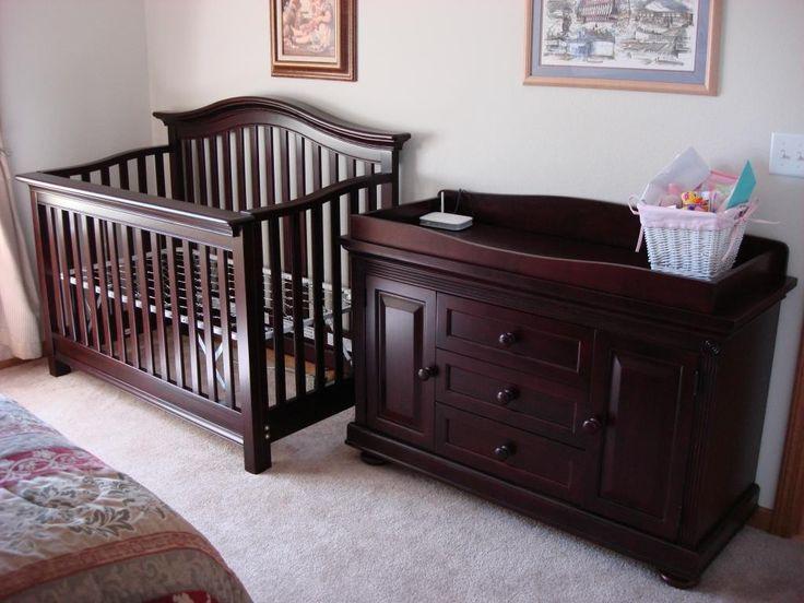 Crib Changing Table Dresser Set