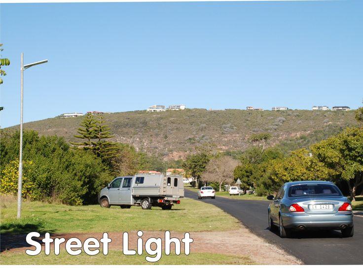 40W solar street light in Plettenberg Bay