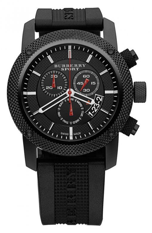 17 best images about best watches for men cool burberry watch men s swiss black rubber strap watches jewelry watches macy s