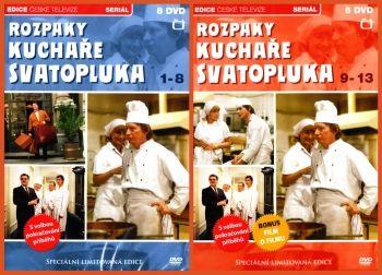Televizní seriál z Edice České televize Rozpaky kuchaře Svatopluka na DVD.