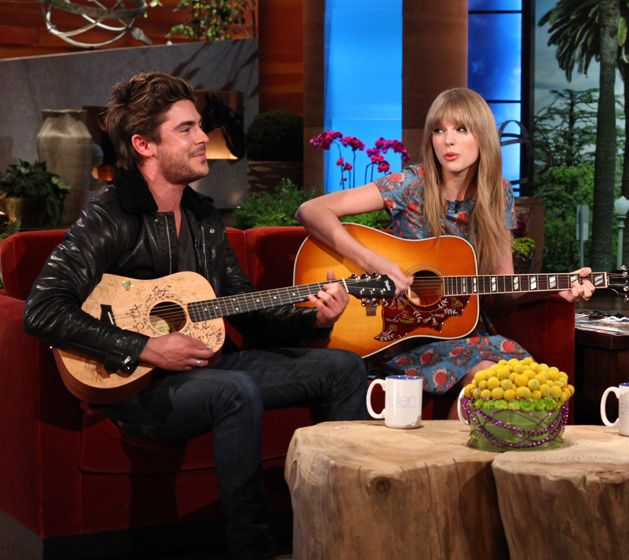 Zac Efron and Taylor Swift serenade Ellen to 'Pumped Up Kicks' with a twist